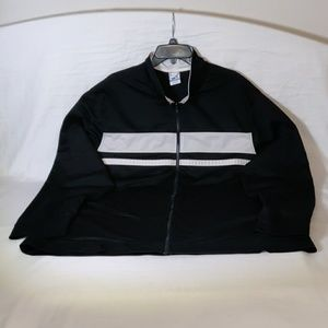 Starter Black & White Zip Front Jacket